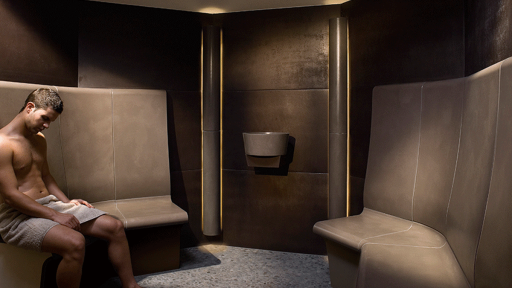 6008 Steam Room Octagon With Ergonomcally Shaped Wet Seats