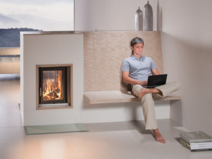 Tiled stoves & tiled fireplaces