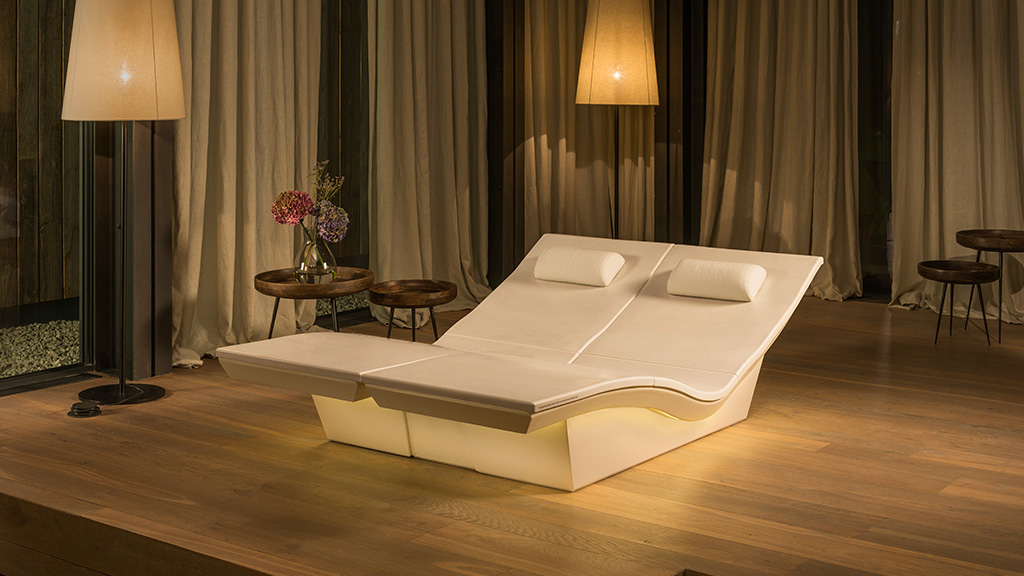 New! DUO Lounger - pure relaxation for two